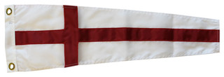 Number 8 Nautical Code Signal Nylon Pennant