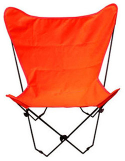 Algoma Net 405349 Butterfly Chair and Cover Combination with Black Frame