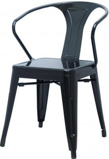 Metropolis Metal Arm Chair Set of 4