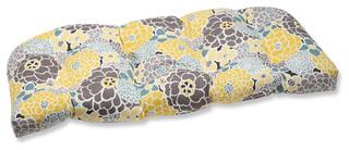 Full Bloom Wicker Loveseat Cushion