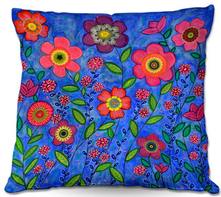 DiaNoche Outdoor Pillows by Sascalia Joy