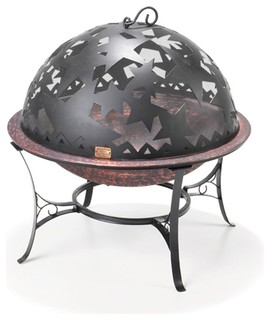Good Directions Small Complete Starry Night FireDome Fire Pit