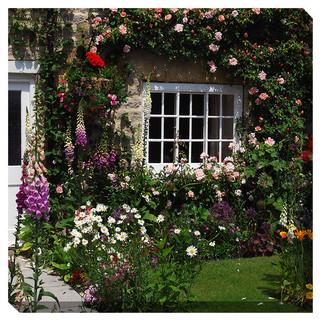 """Cottage Garden"" Outdoor Art"