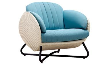 Purple Circle Chair Purple Cushion