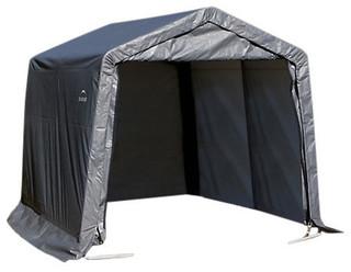 10'x12'x8' Peak Style Shelter Green