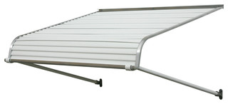 "1100 Series Aluminum Door Canopy 72""x42"" Projection White"