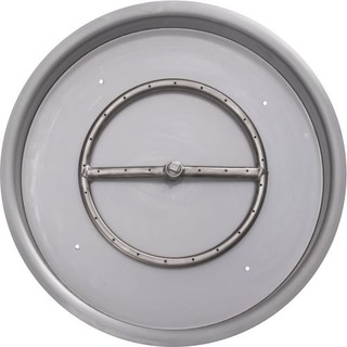 """NG 15"""" Round Drop-in Pan with 6"""" Single Burner"""