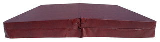 """Dimension 1 Spa Cover Chairman Ii Model Brown 5"""" with 5/3 Taper"""