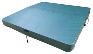 "Leisure Bay Spa Cover Pro-Shield Model Tan 5"" Flat"
