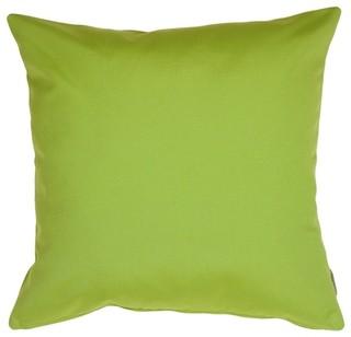 Pillow Decor - Sunbrella Macaw Green 20 x 20 Outdoor Pillow
