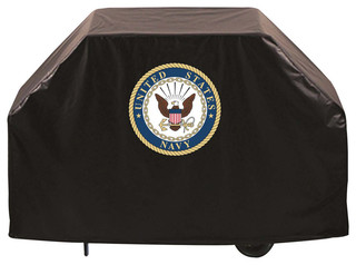 "Navy Midshipmen BBQ Grill Cover 72"""