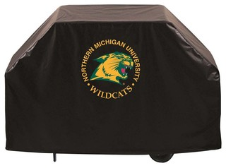 """Northern Michigan Wildcats BBQ Grill Cover 72"""""""