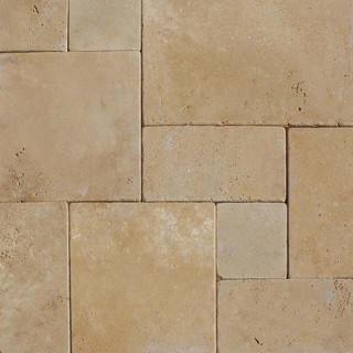 "Durango Cream Hardscaping Pavers Sandstone 12""x12"" Gauged 10 Sq. ft."
