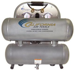 1.0 Hp 4.6 Gal. Aluminum Twin Tank Air Compressor