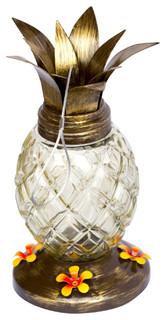 Cool Pineapple Bird Feeder With 4 Nectar Feeders