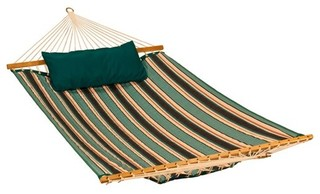 11' Reversible Sunbrella Quilted Hammock Teal
