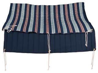Quilted Reversible Hammock Pad - Blue