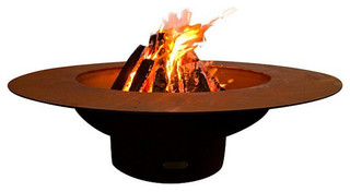 Fire Pit Art Magnum 54 Handcrafted Carbon Steel Fire Pit
