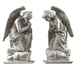 Adoration Kneeling Set 56 Garden Angel Statue