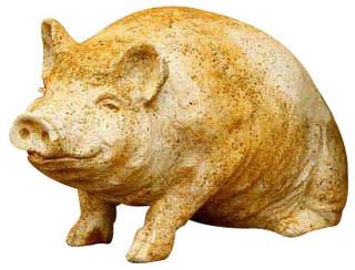 Wilber Pig 8 Garden Animal Statue