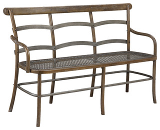 French Heritage Chevell Bench Timberwood