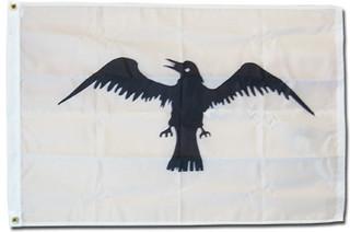 Raven 2'x3' Nylon Flag