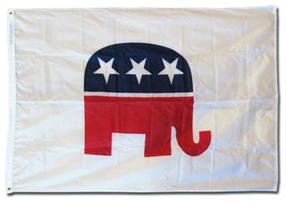 Republicans 3'x5' Nylon Flag