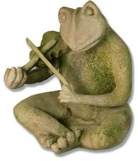 Frog Singing Jazz Violin 14 Garden Animal Statue
