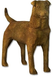 Garden Dog 24 Garden Animal Statue