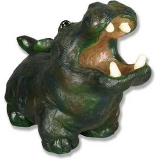 Molly Hippo Birdfeeder Garden Animal Statue