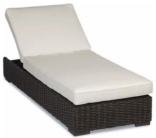 Cardiff Adjustable Chaise With Cushions Cushions: Canvas Granite
